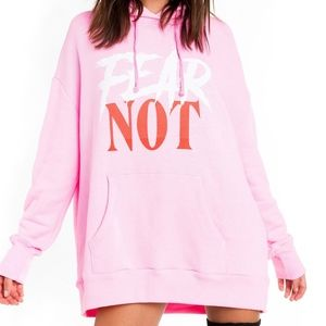 WILDFOX 'FEAR NOT' REALX HOODIE, NWT!!!